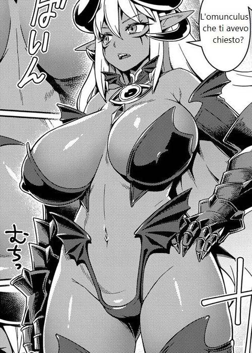 Traduzioni fumetti monster girl