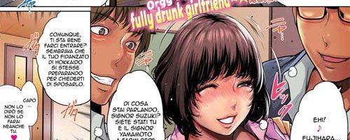 Orgia Con Una Fidanzata Completamente Ubriaca